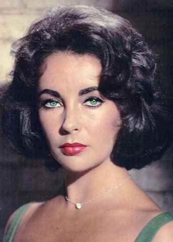 Elizabeth Taylor's eye...