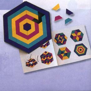 MOSAIC MYSTERIES Pattern Block Design Activity